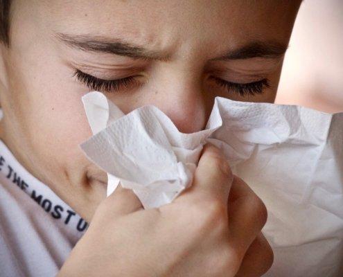 epistassi nasale nei bambini