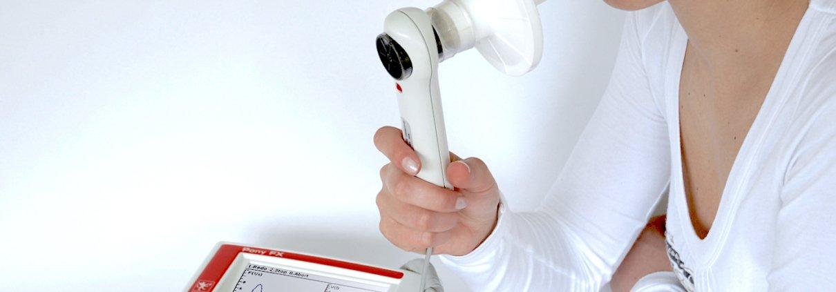 esame spirometrico