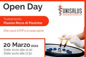 prp open day marzo 2021