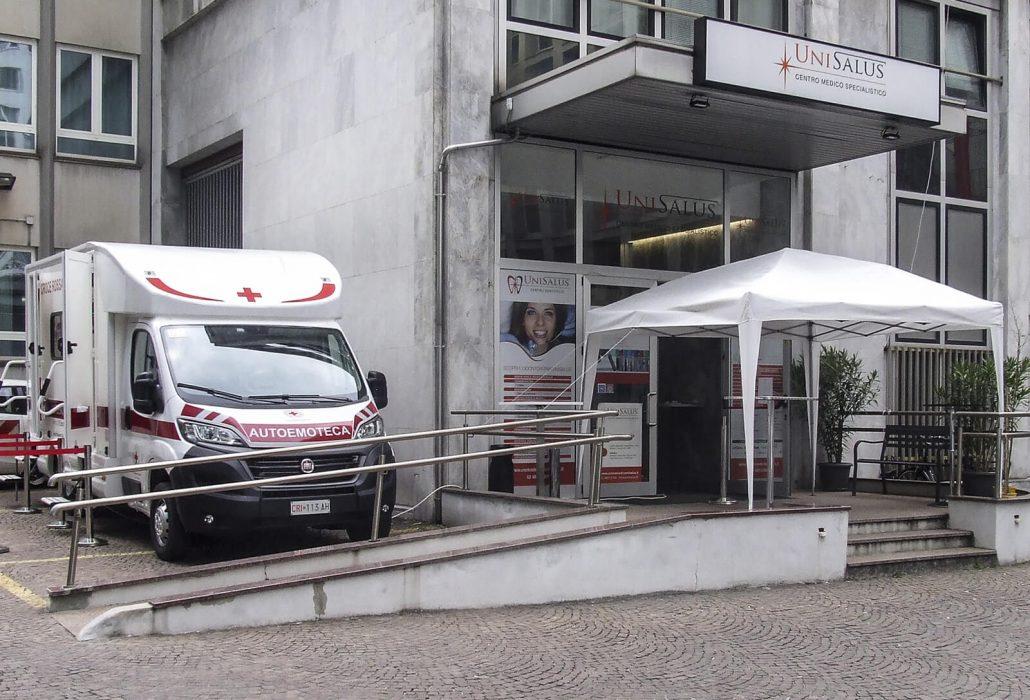 Ingresso Centro Medico Unisalus